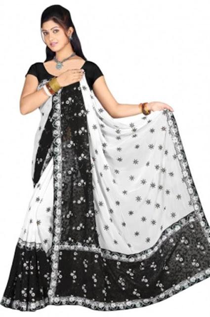 Chiffon Indian Saree Sari