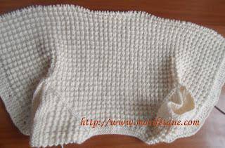 Knit baby vest