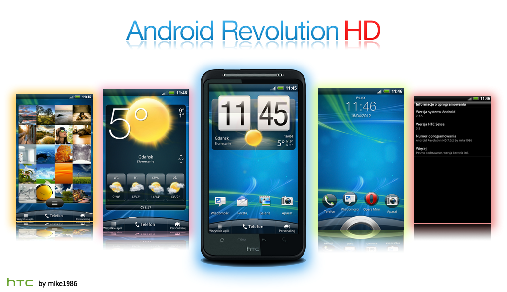 Android Revolution HD For Android