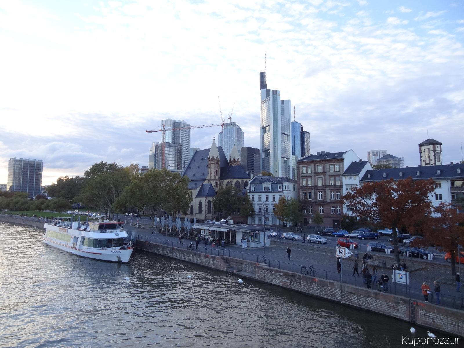Miasto Frankfurt panorama