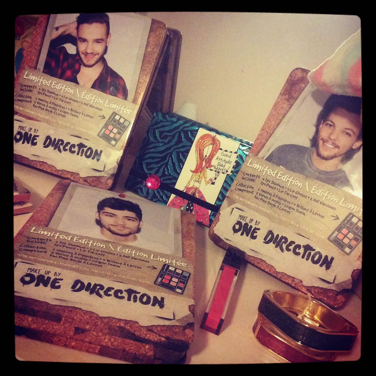 One Direction Limited Edition Makeup Tins