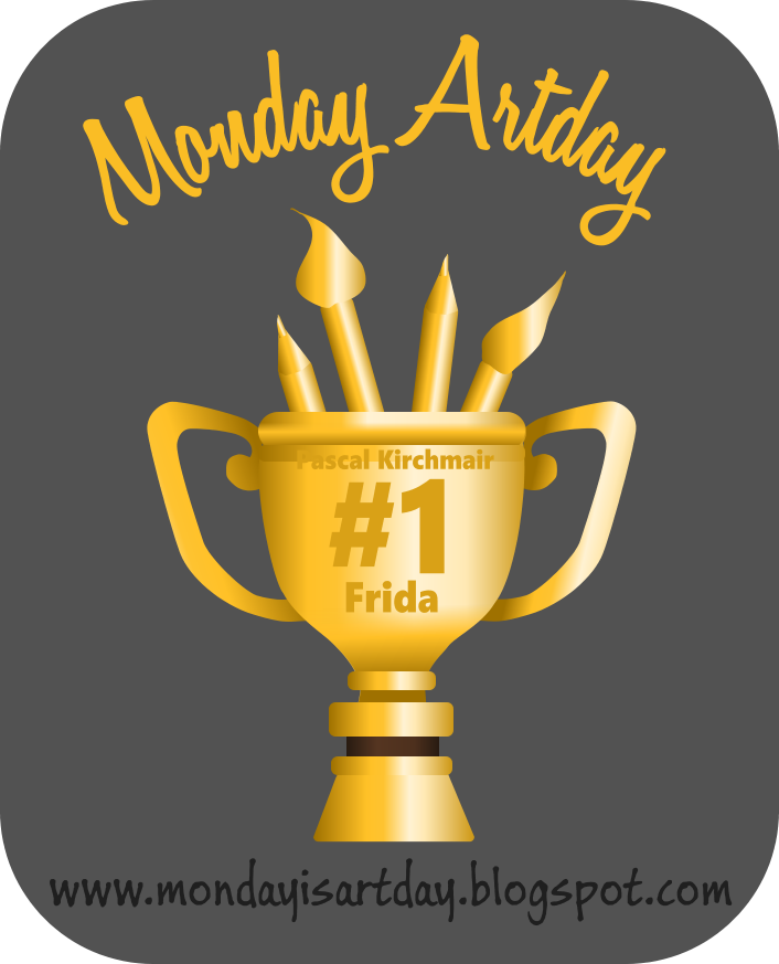 I won @ Monday Artday!