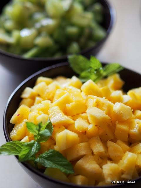 dżem ananasowy z kiwi i limonką , domowe przetwory , moja spiżarnia