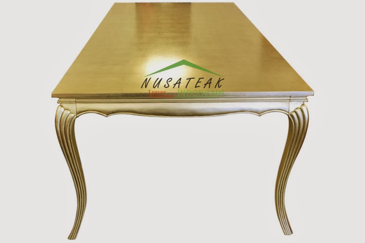 Florence French Gold Leaf Dining Table 2