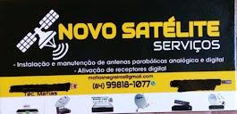 NOVO SATÉLITE SERVIÇOS - INSTALAÇÃO E MANUTENÇÃO DE ANTENAS PARABÓLICAS ANALÓGICA E DIGITAL