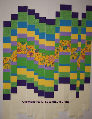 bargello quilt strips