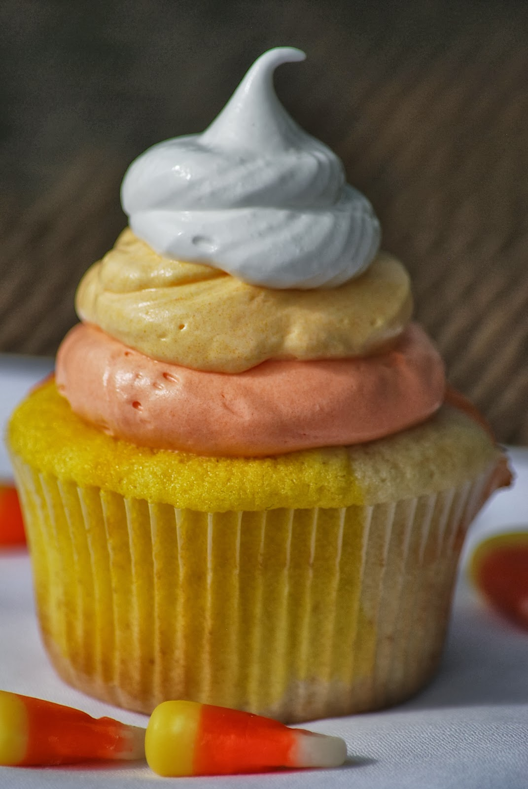 Candy Corn Cupcake Recipe