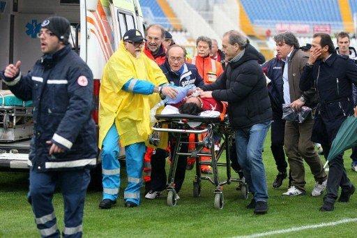 pemain bola meninggal dilapangan