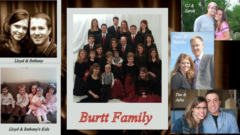 Burtt Family