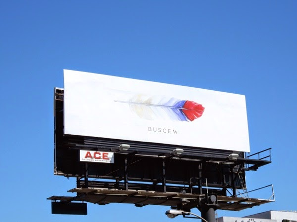 Buscemi feather billboard