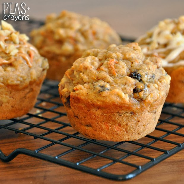 Carrot Currant Muffins