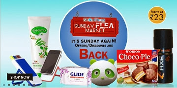 Shoclues Sunday Flea Market: VIP Leader Sports Vest Pack Of 3 for Rs.113 | VIP Frenchies Brief Pack of 3 for Rs.123 | BHPC Sport deodorant 150ml (1Pc.) for Rs.83 & more