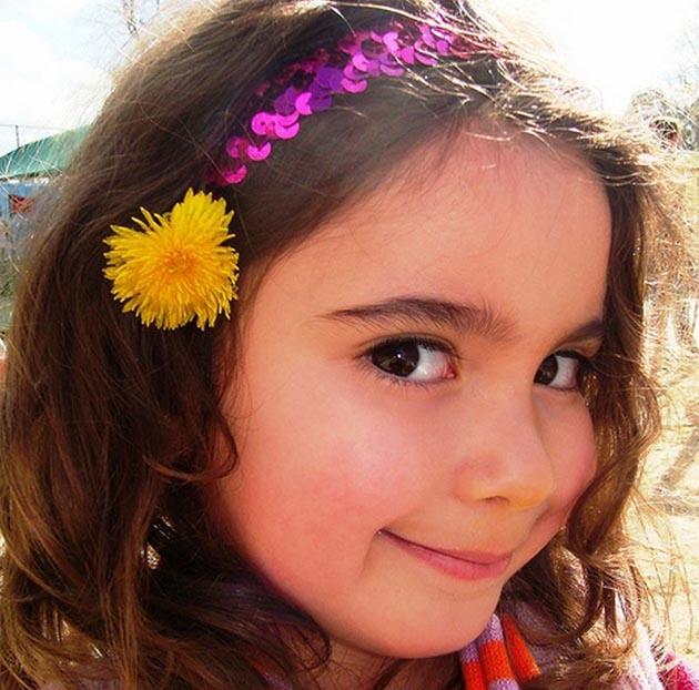 Peinados para niñas 2012