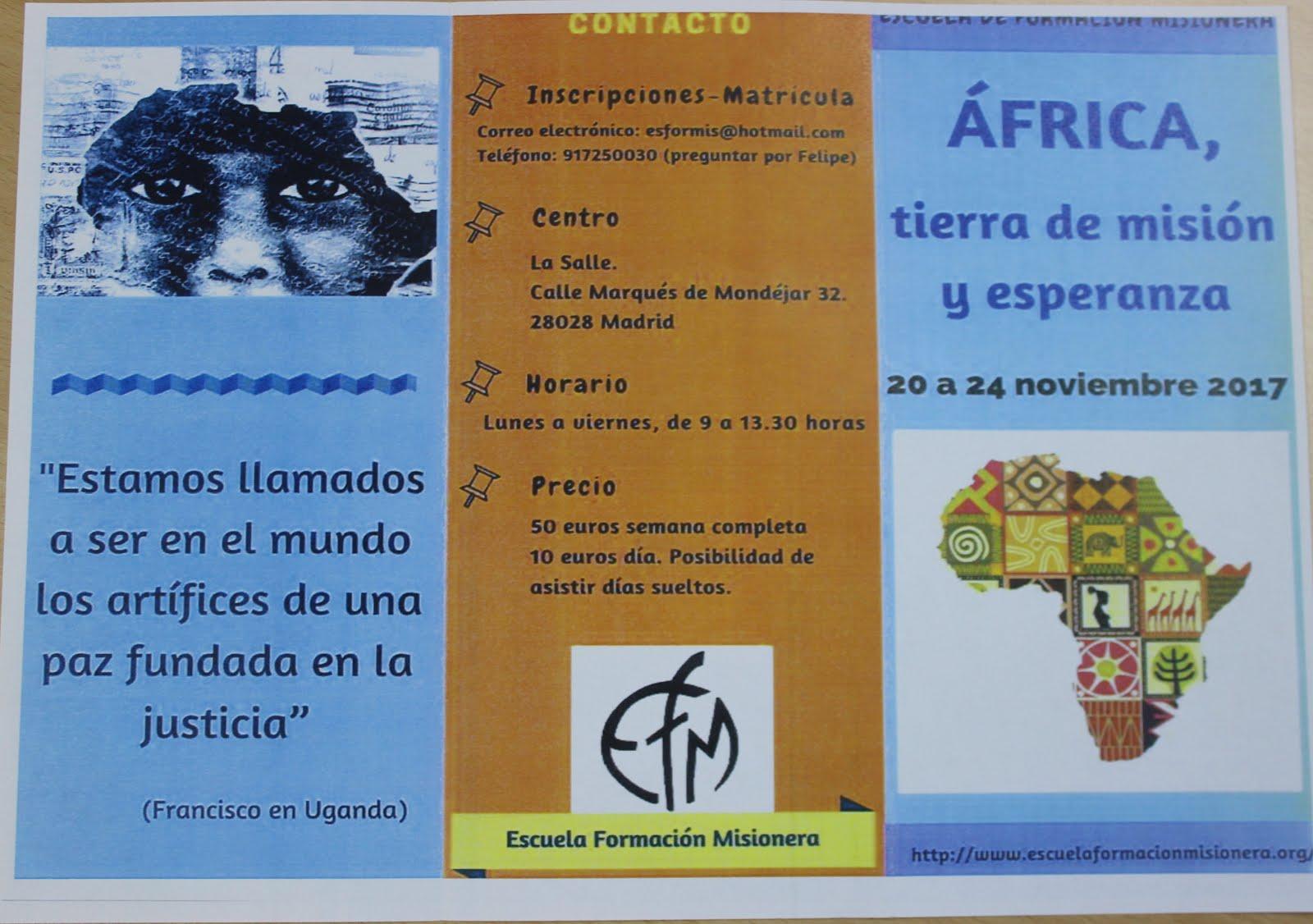 SEMANA DE MISIÓN ÁFRICA