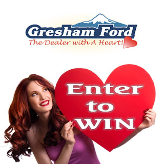Enter to Win Trip Sweepstakes from Gresham Ford