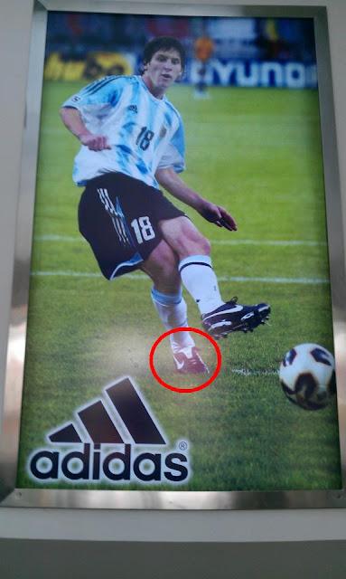 Messi wirbt in China für adidas und Nike