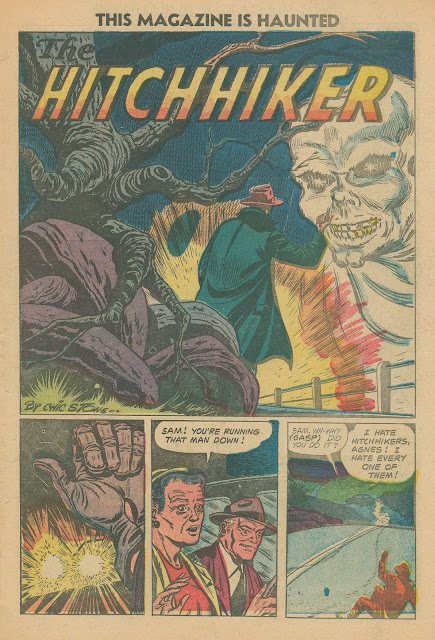 Of horror tales called the hitchhiker the best known is probably the