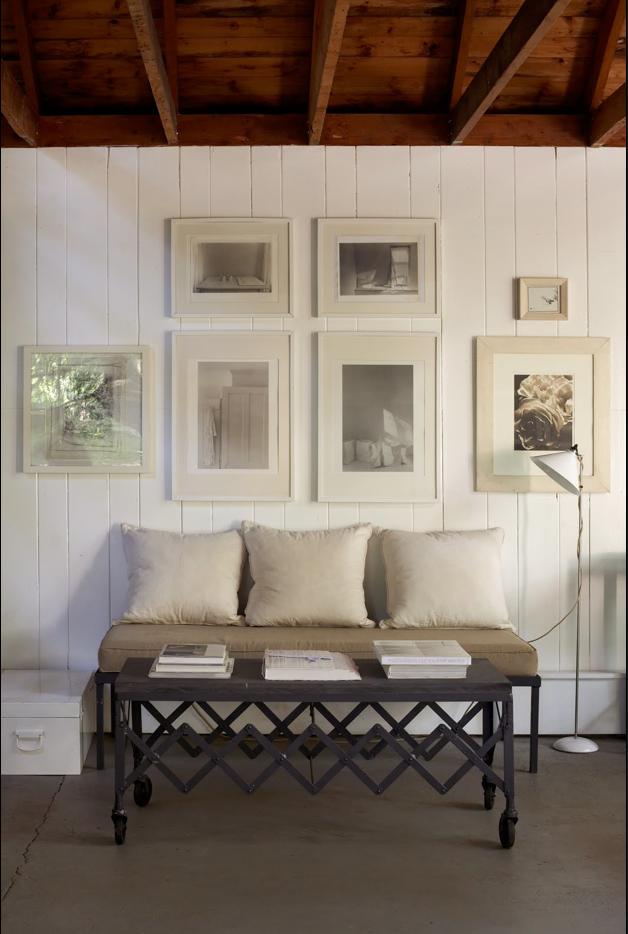 Estilo rustico muros interiores de madera - Pinturas para madera interior ...