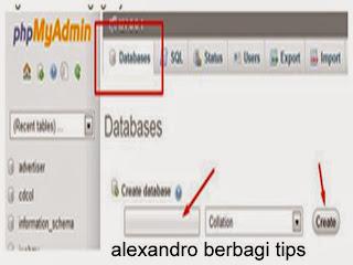 Cara Membuat Database Menggunakan Xampp