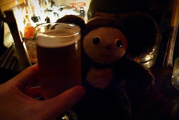 京都四条大宮のバー「Kaju」で晩酌前の一杯