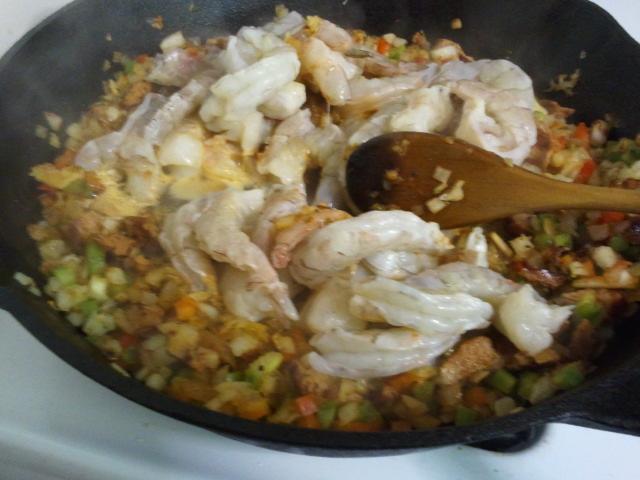 True Grits With Southwestern Shrimp Recipes — Dishmaps
