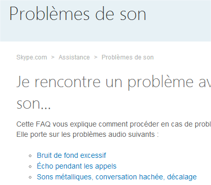 capture d'écran Web - assistance Skype