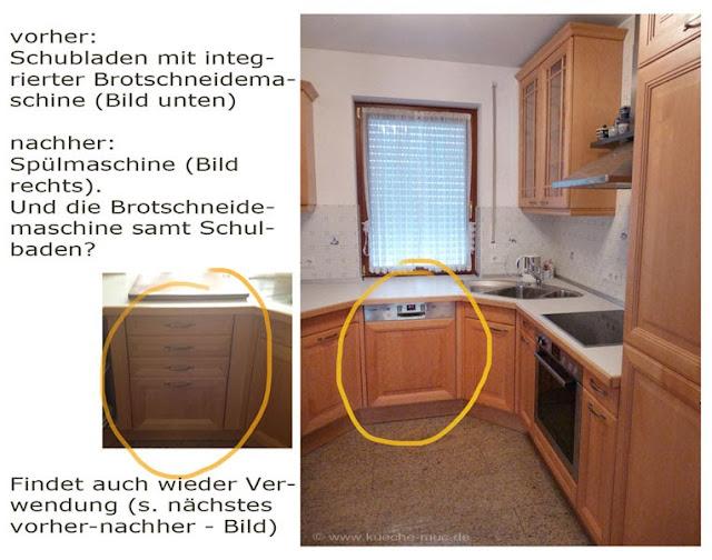 Ausstellungsküche verändern, Ausstellungsküche modifizieren, Ausstellungsküche anpassen, München, Küche München