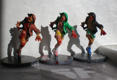 Zombicide Zombie Painted Runners