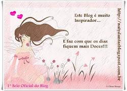 O 1 SELO, Indicado pela CYNTHIA BRITO(http://cynthiadayanne.blogspot.com/)