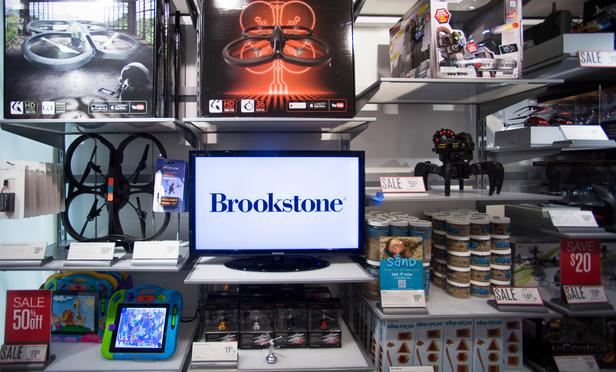 Loja de brinquedos Brookstone