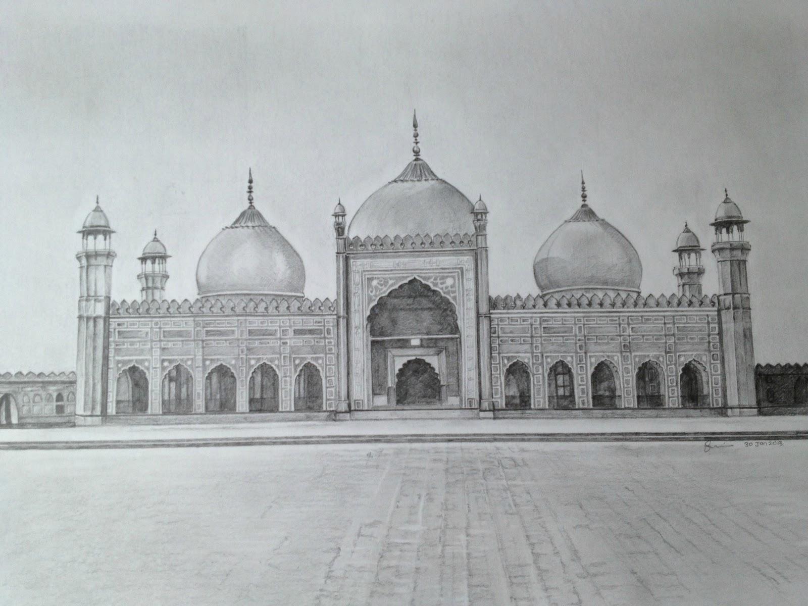 essay on badshahi mosque in urdu