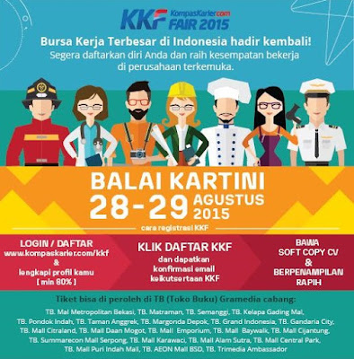 Jadwal Job Fair di Jakarta Agustus 2015 Terbaru