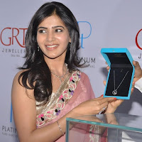 winning elegant ethnic Samantha latest photos at grt jewelers launch