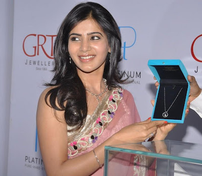 winning elegant ethnic Samantha latest photos at grt jewelers launch