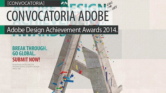 Convocatoria. Adobe Design Achievement Awards 2014