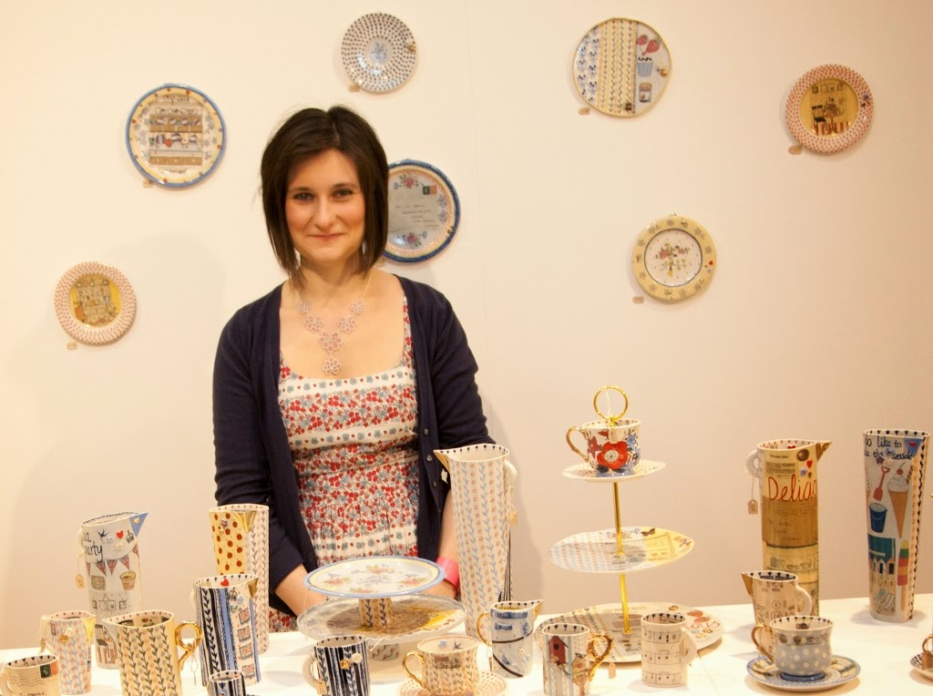 About Katie Almond ceramics