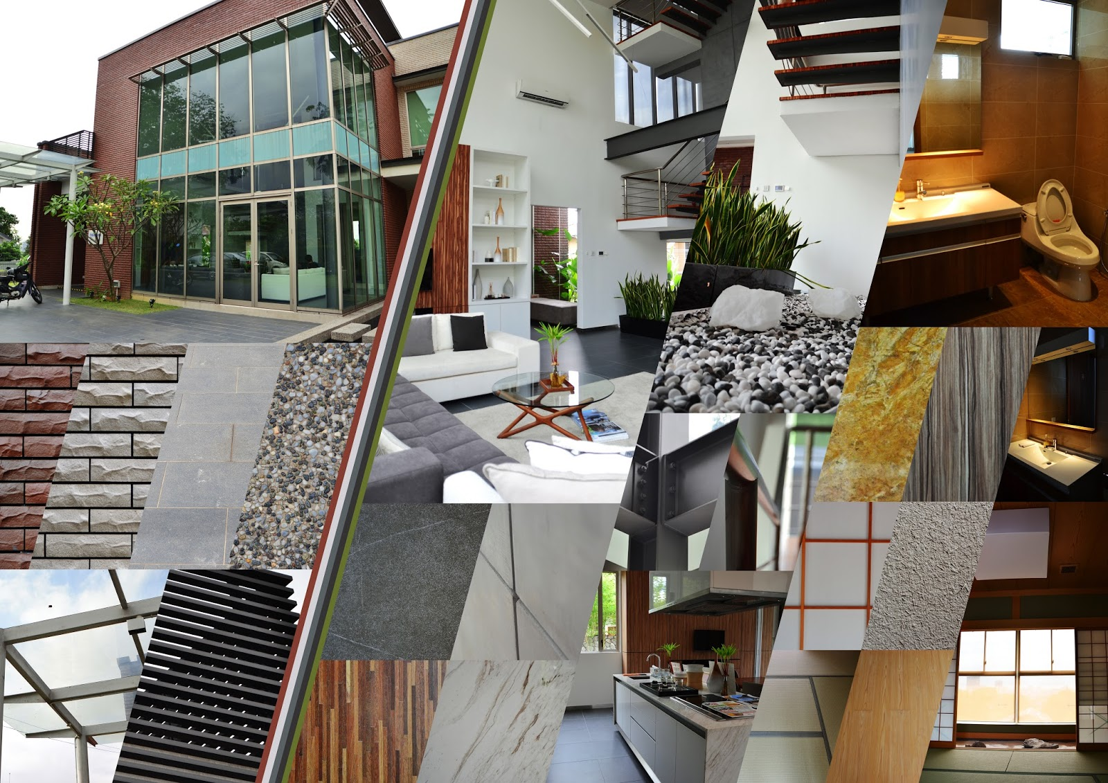 Project 2 materiality of space an experiential for I 10 building materials