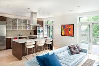 cocina integrada al salon