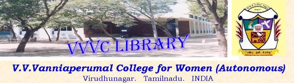 V.V.V. College LIBRARY