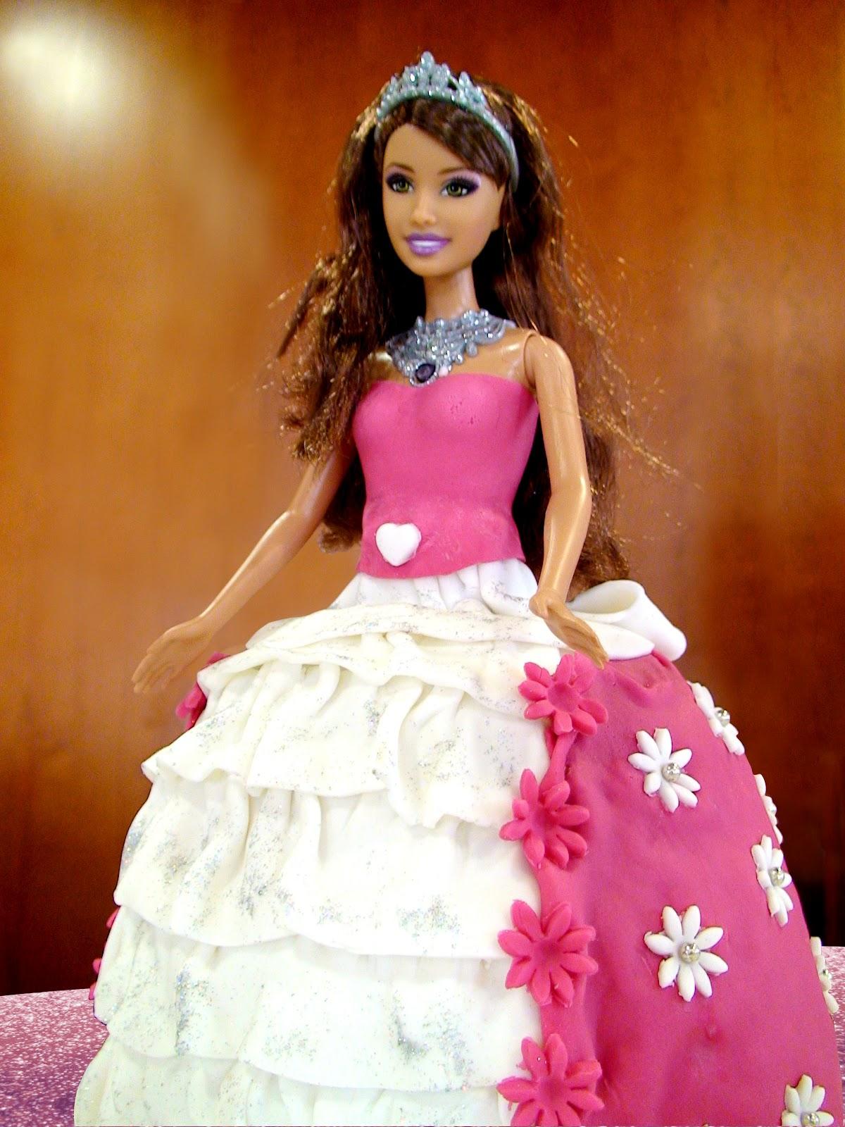 pastis fondant,Barbie