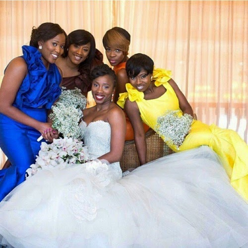 #Bridesmaids #NigerianWedding