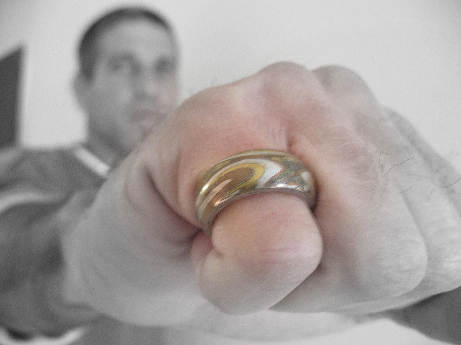 mokume gane rings, mens silver rings, mokume gane, unique silver rings