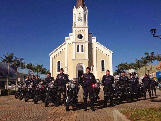 Prefeitura de São José dos Pinhais entrega 15 novas motos  700 cilindradas para Guarda Municipal