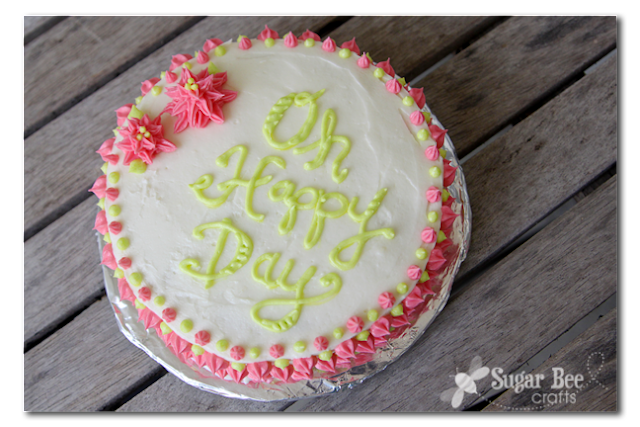 Cake Decorating Classes For 11 Year Olds : The Secret to Cake Lettering Spacing - Sugar Bee Crafts