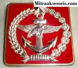 Emblem TNI bahan kuningan harga PABRIK Emblem-tni-au