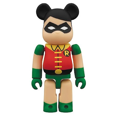 Robin New Teen Titans DC Universe 100% Be@rbrick by Medicom