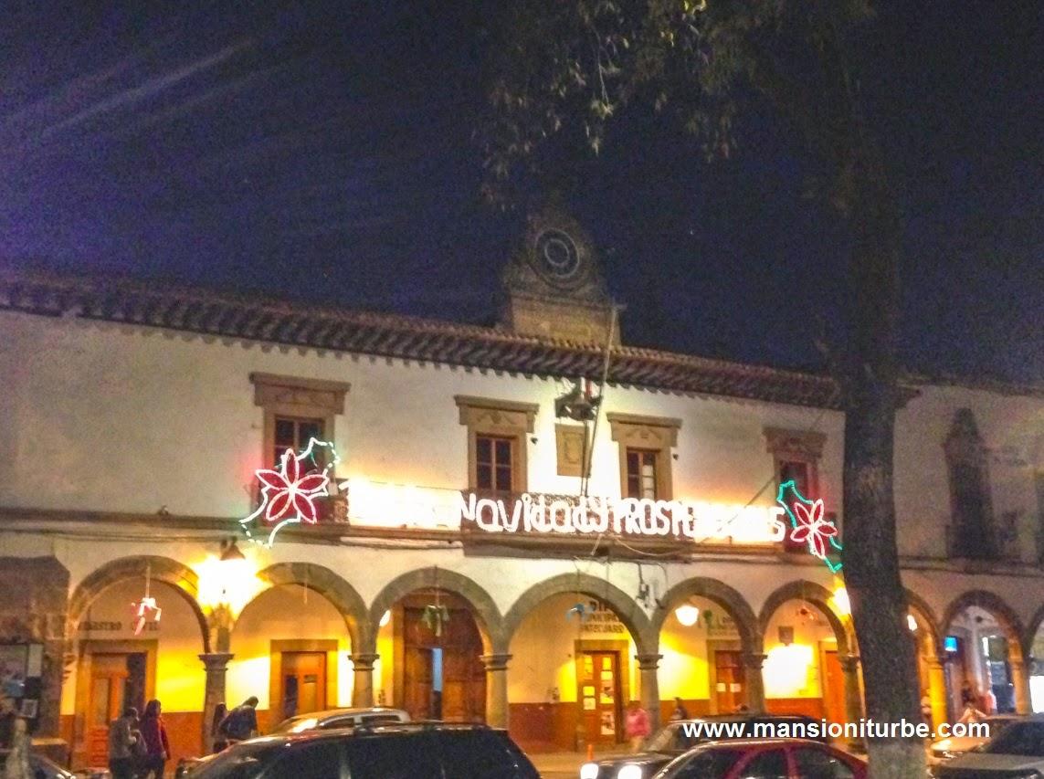 Ayuntamiento de Pátzcuaro en Vacaciones de Fin de Año
