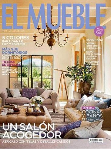 Inspiraci n n rdica en la ltima revista de el mueble for Muebles estilo nordico barcelona