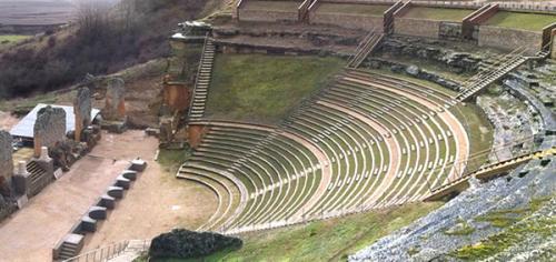 colonia_romana_clunia_visita_burgos_teatro