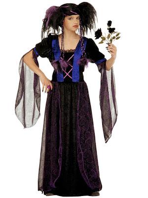 Gotisk prinsessekjole